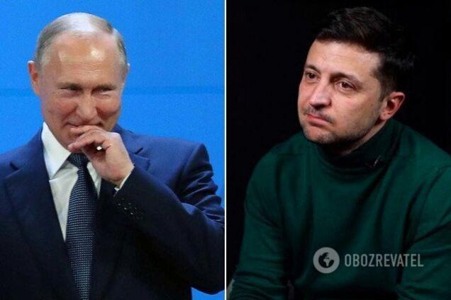 Путин отказался поздравлять Зеленского