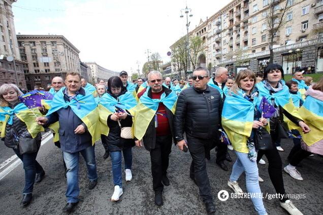 В России восхитились разительным отличием украинцев