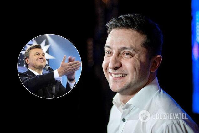 """""""Низько вклоняюся!"""" Янукович привітав Зеленського"""