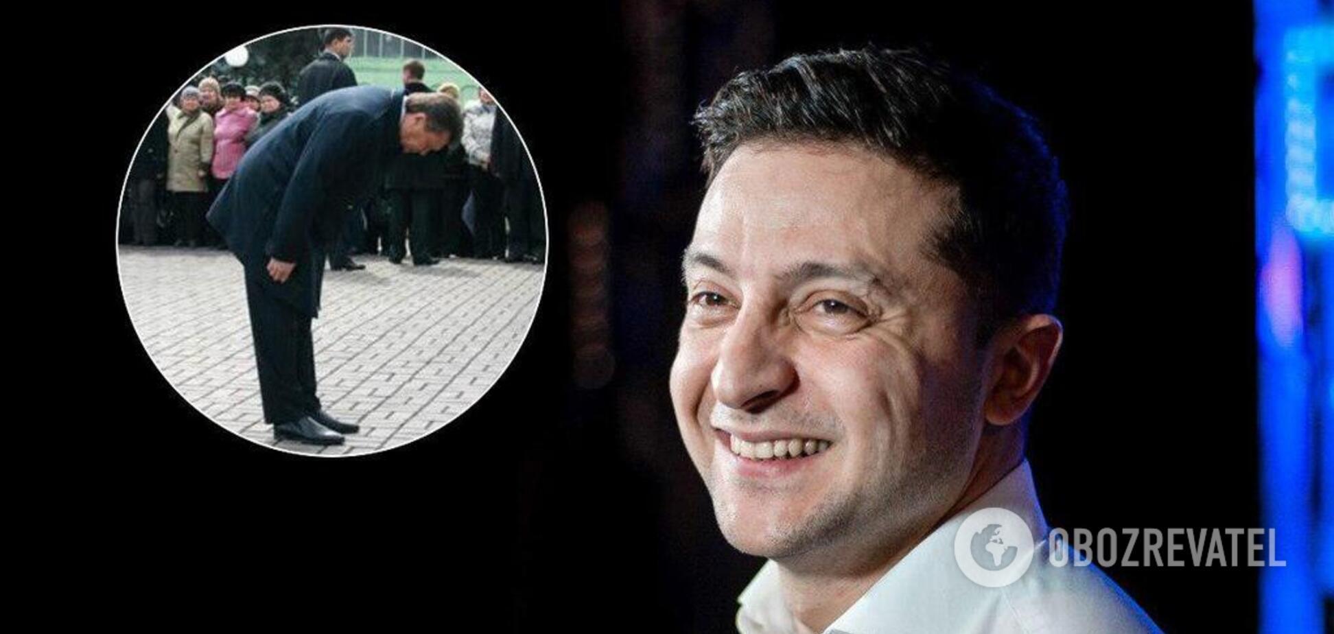 'Низько вклоняюся!' Янукович привітав Зеленського: йому відповіли