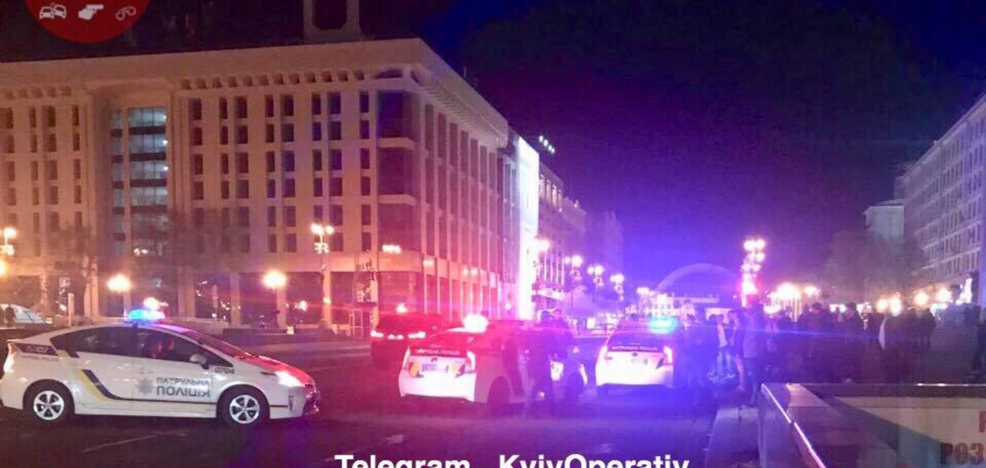 Напад на поліцейського в Києві