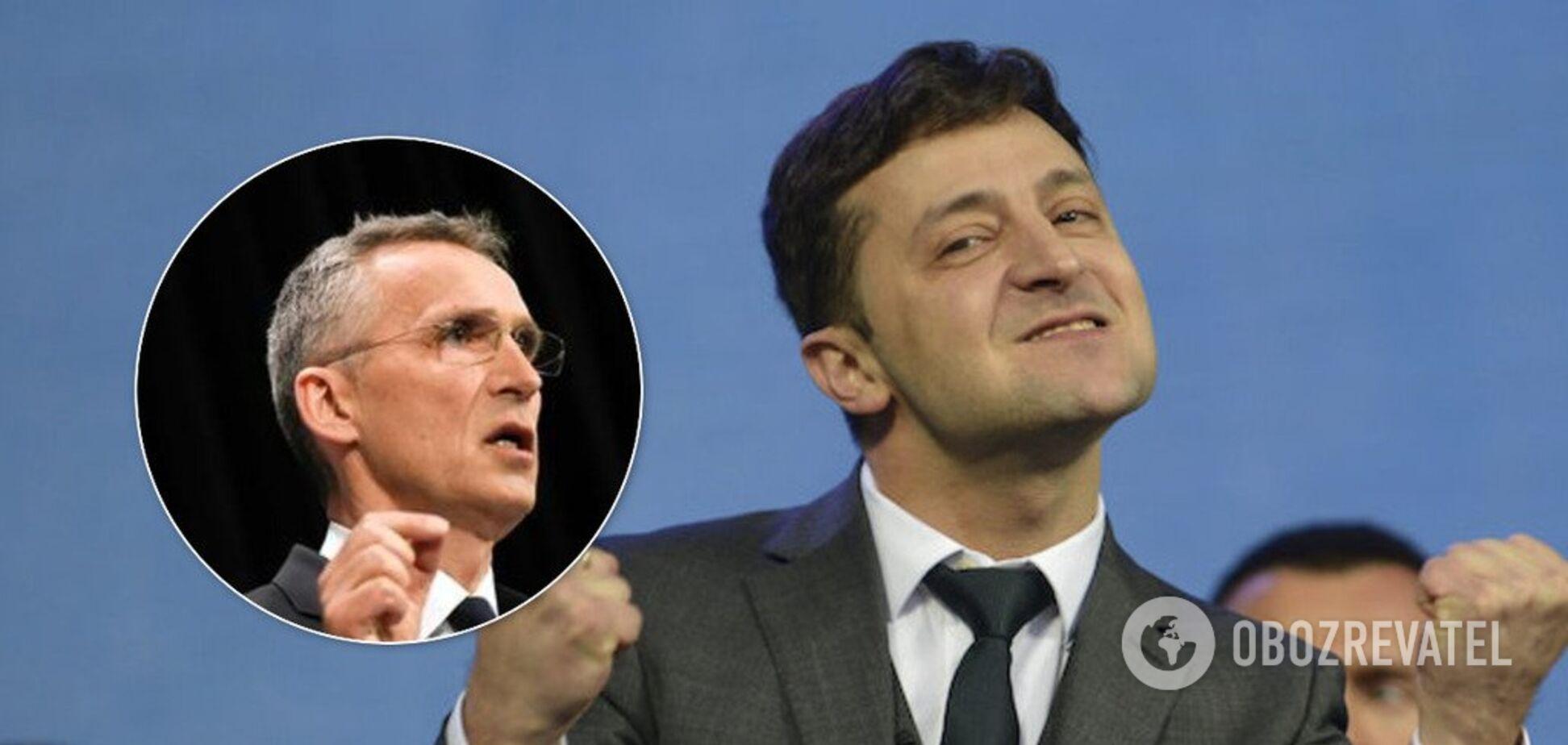 Генсек НАТО поздравил Зеленского и озвучил планы по Украине