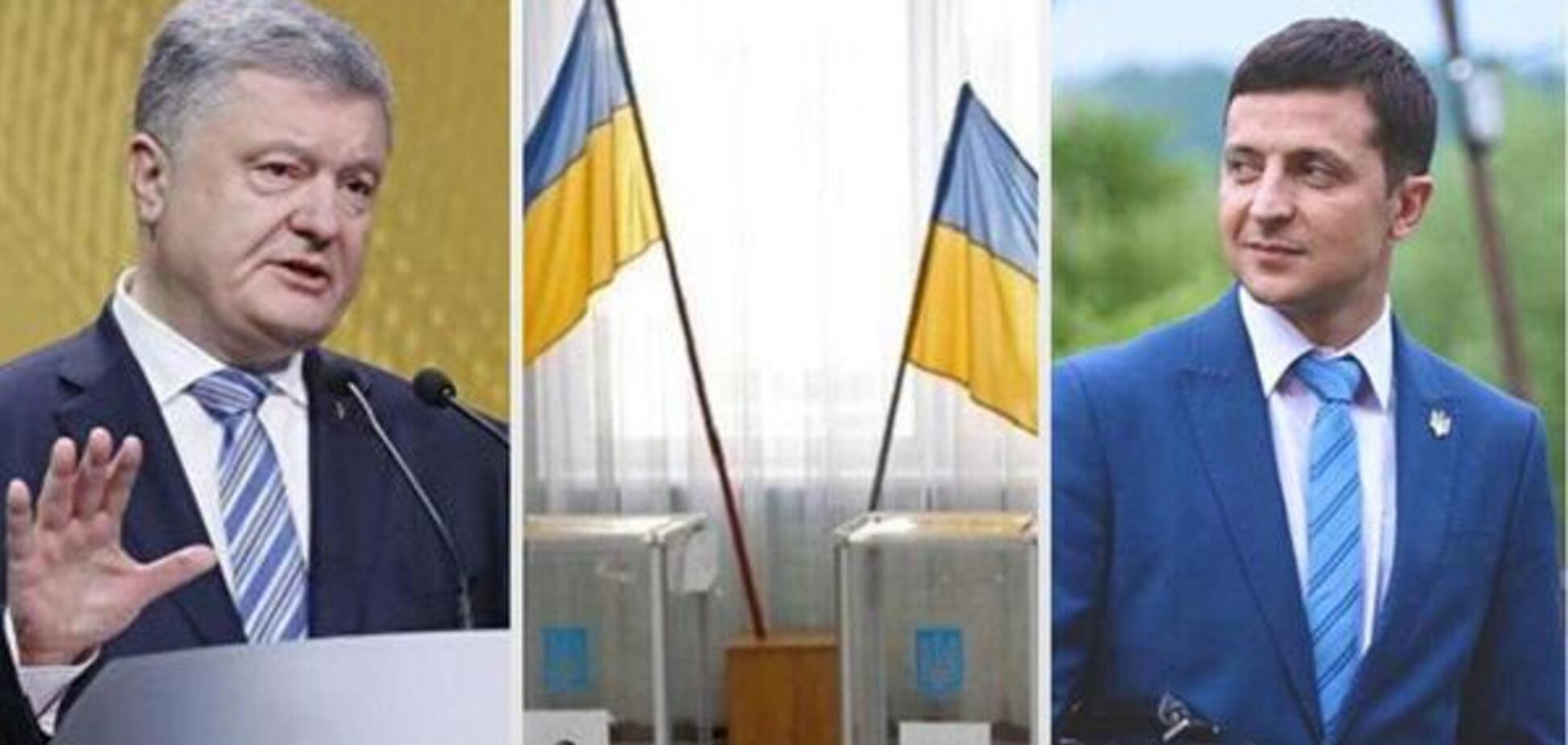 Зеленський vs Порошенко: став відомий переможець виборів