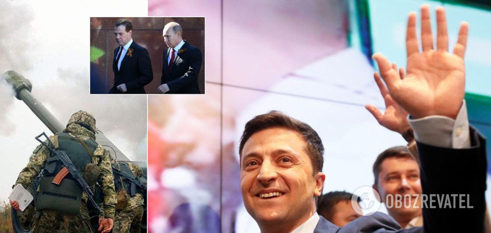 'Гра буде цікавою': Зеленський планує 'взятися' за Донбас, у Москві — пожвавилися