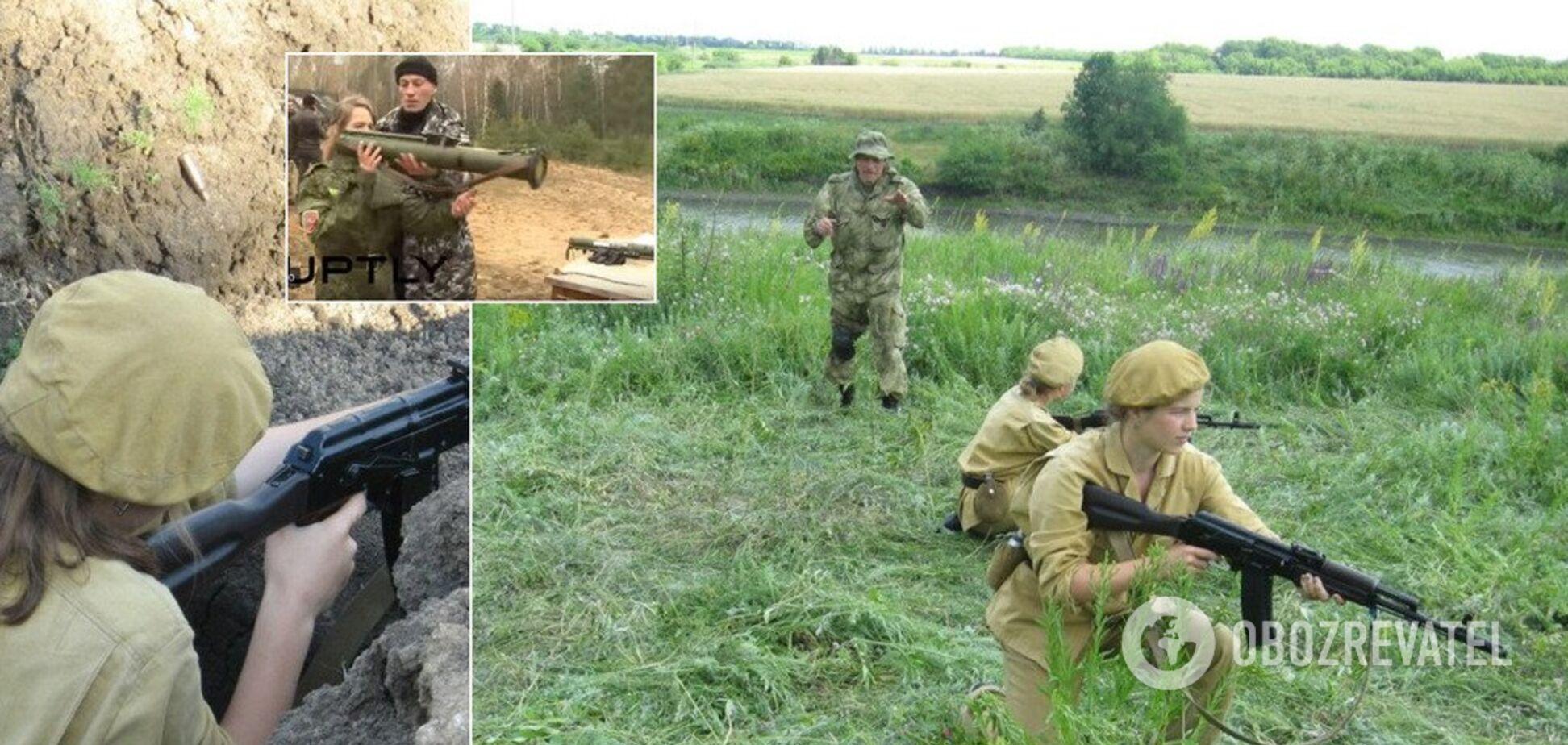 Учат убивать украинцев. Как в 'ДНР' из детей куют террористов