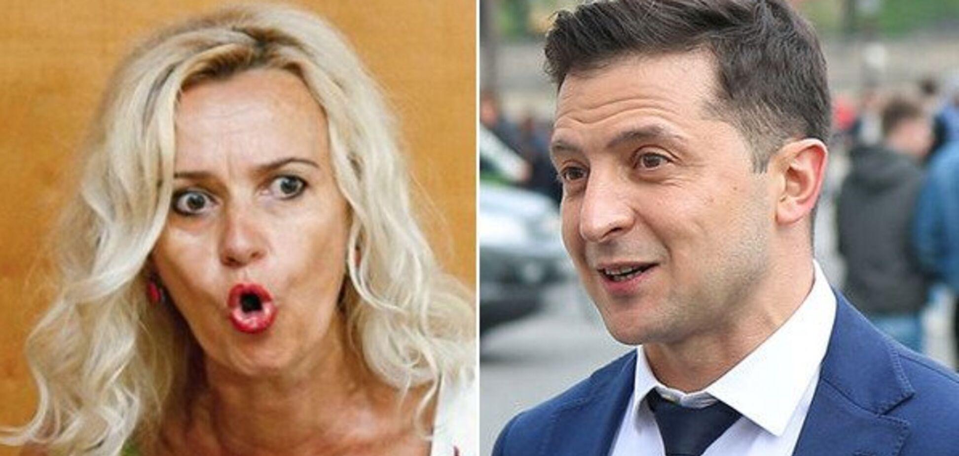 'Московські шлаки!' Фаріон закотила Зеленському скандал через українську мову