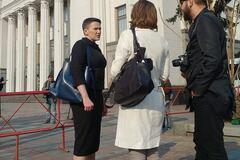 'Иуды рассчитывали, что умрет': Савченко вернулась в Раду. Фото и видео