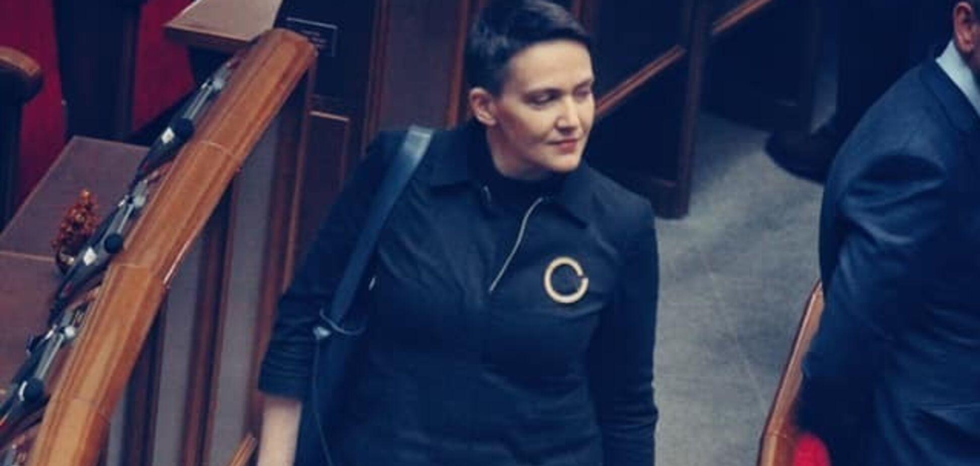 'Зеленський — президент': Савченко зробила першу заяву в Раді