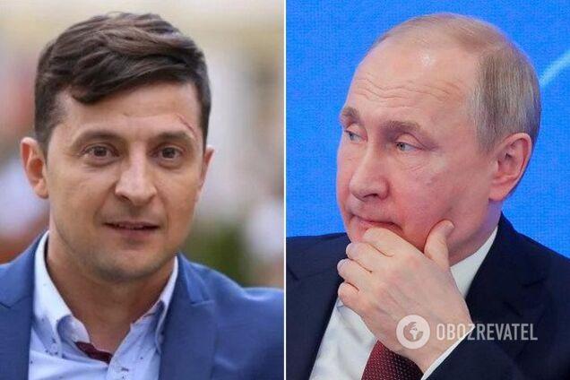 Володимир Зеленський і Володимир Путін