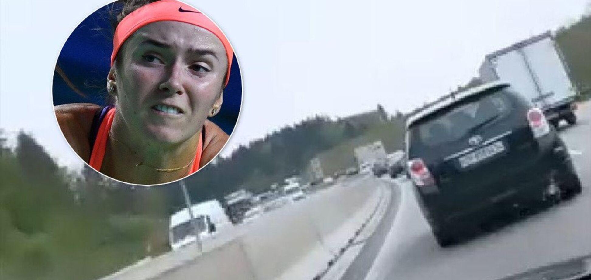 'F**k': Світоліна потрапила в неприємну ситуацію на дорозі і психонула
