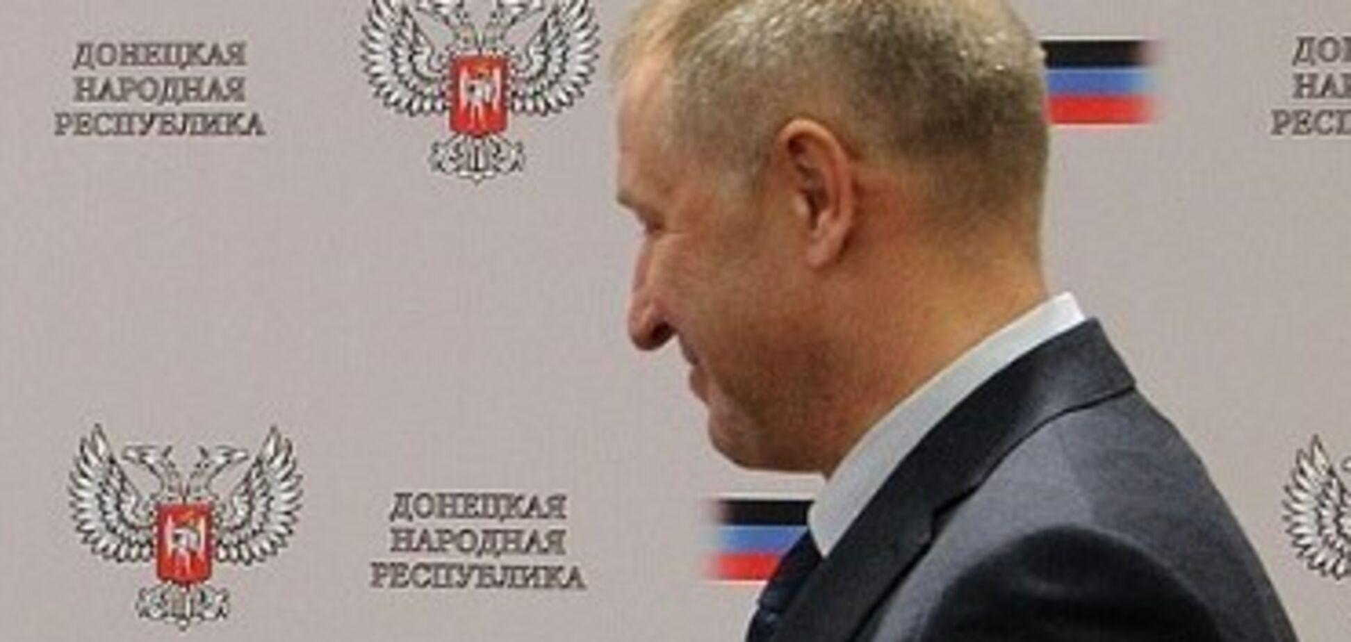 Приховував обличчя: опубліковане перше фото 'прем'єр-міністра ДНР'