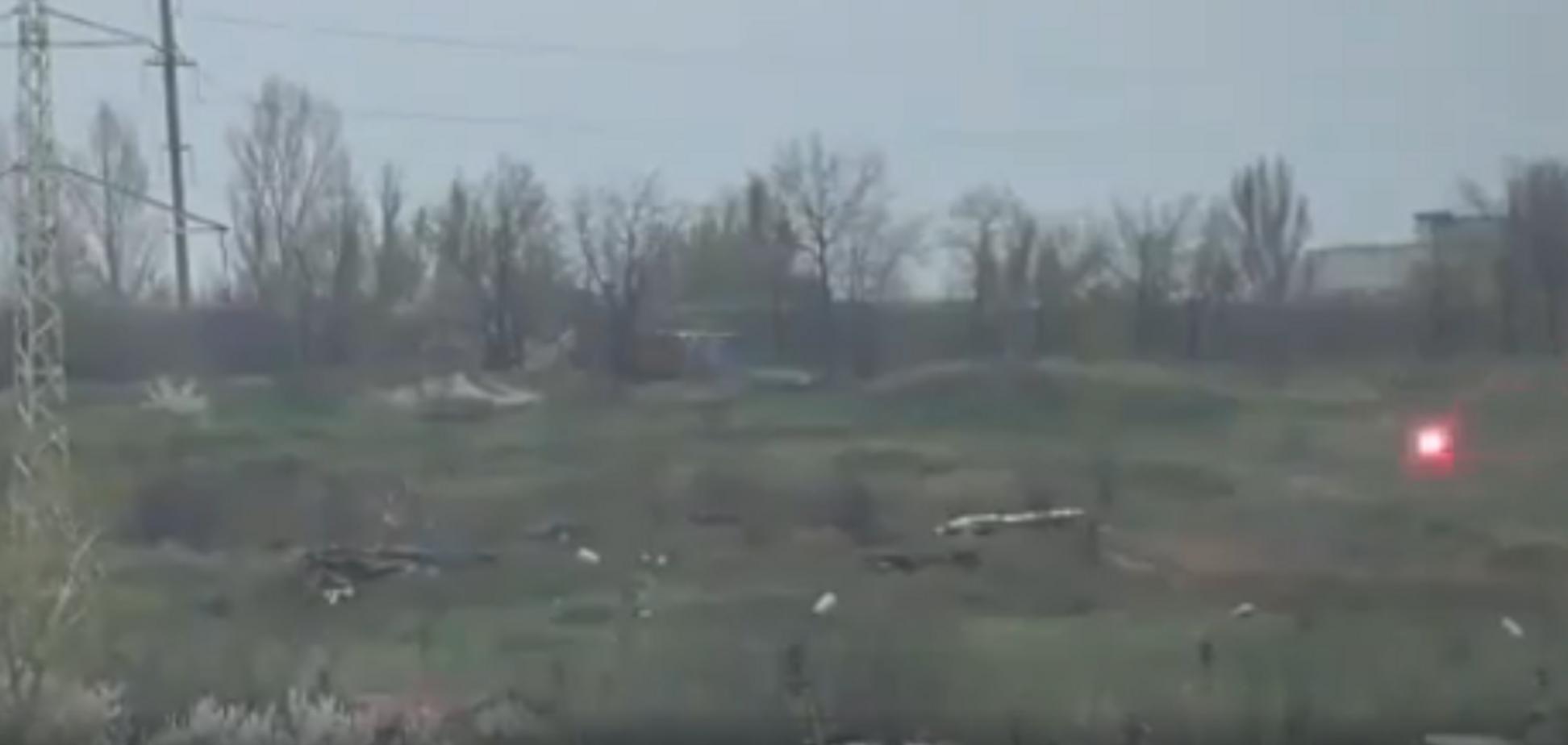 ВСУ разбили террористов 'Л/ДНР' на Донбассе: двойной удар попал на видео