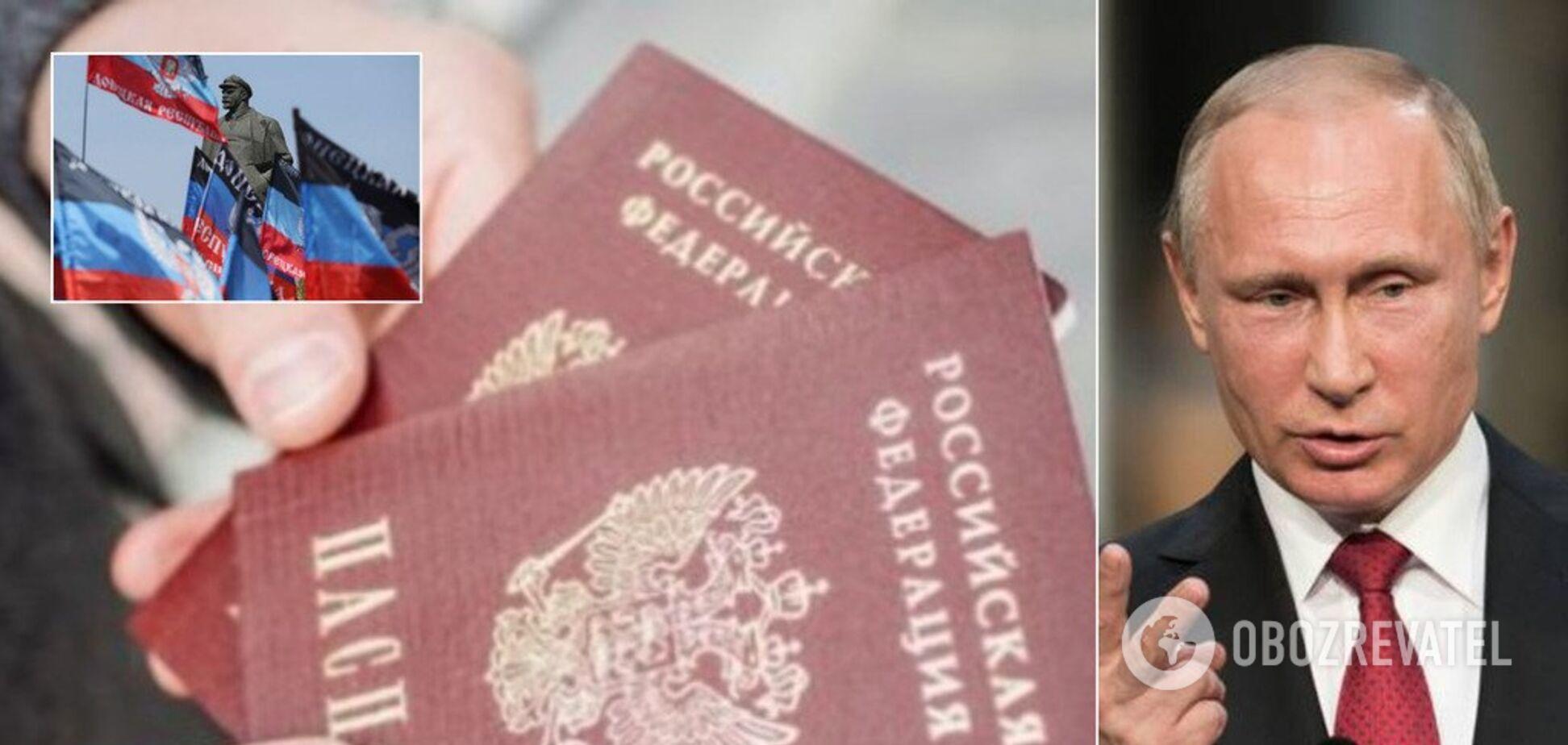 Привет, Зе! Почему Путин решил раздать паспорта в 'Л/ДНР'