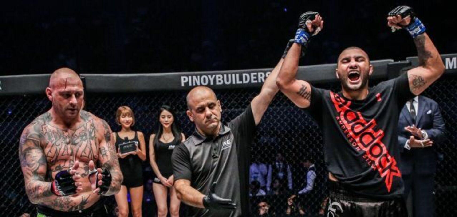Екс-чемпіон UFC переміг диким нокаутом — опубліковане відео