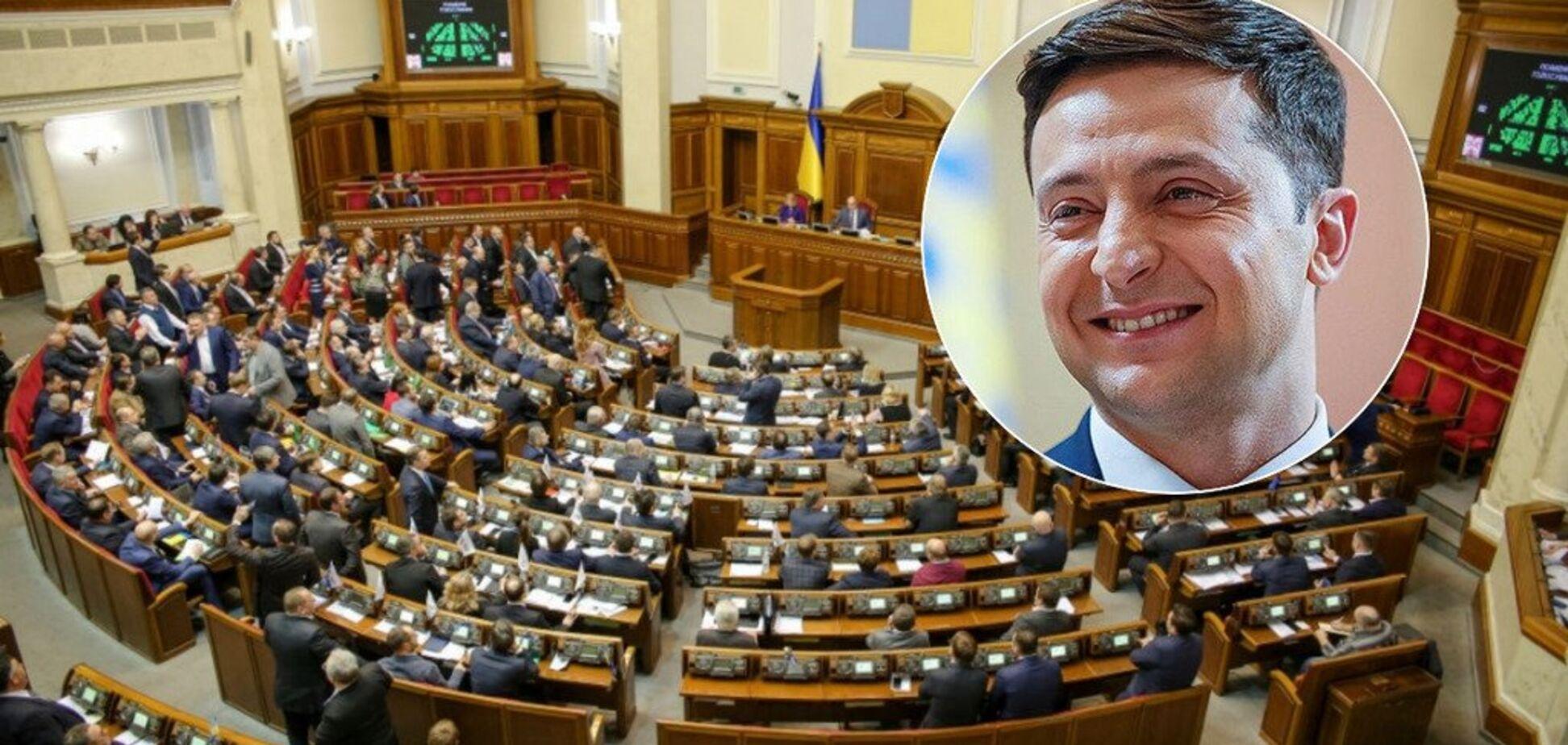 Указ Зеленского готов: появился инсайд о досрочных выборах в Раду