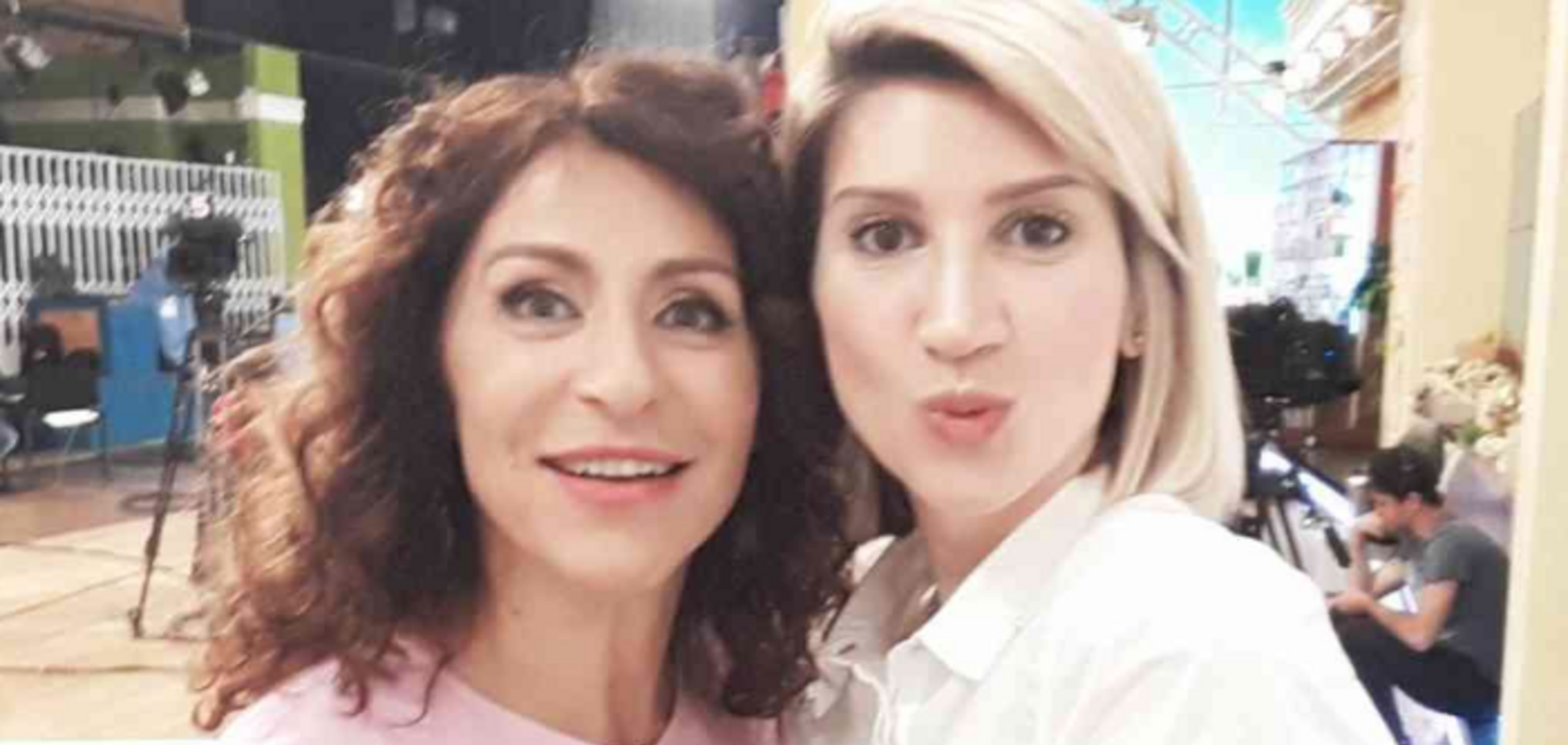 Надія Матвєєва і Аніта Луценко