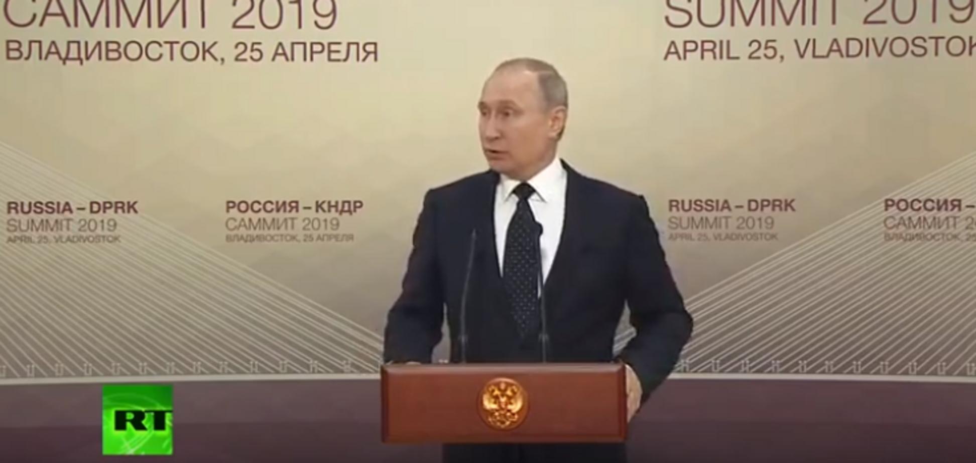 'А чим росіяни гірші?' Путін зухвало пояснив видачу паспортів РФ на Донбасі