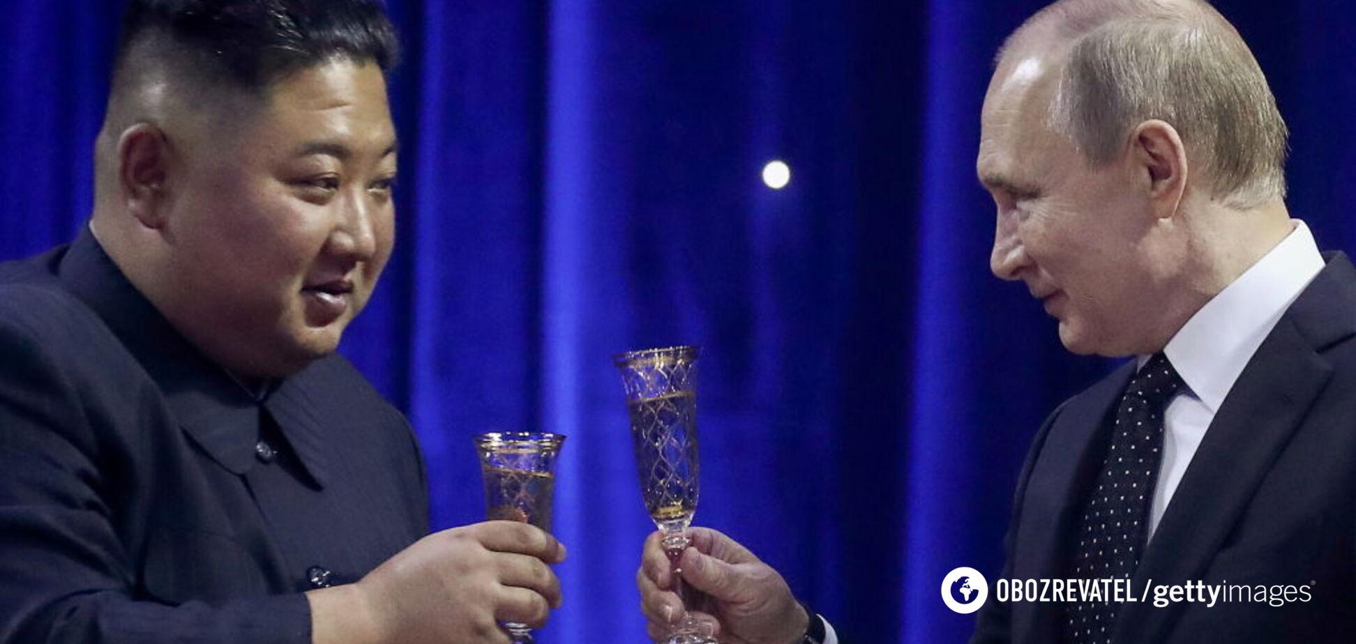 'Натякнув на харакірі': Кім Чен Ин зробив Путіну дивний подарунок