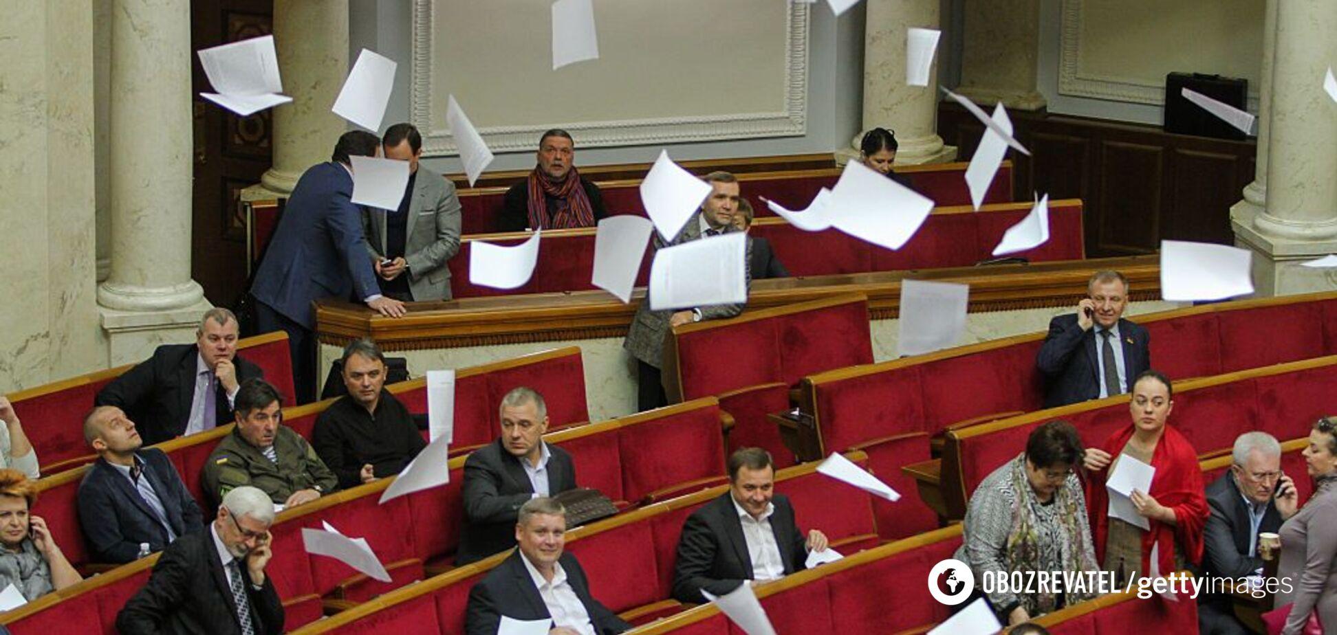 Закон о языке заблокировали в Раде: что произошло