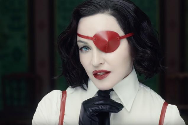 Мадонна впервые за четыре года выпустила откровенный клип. Видео