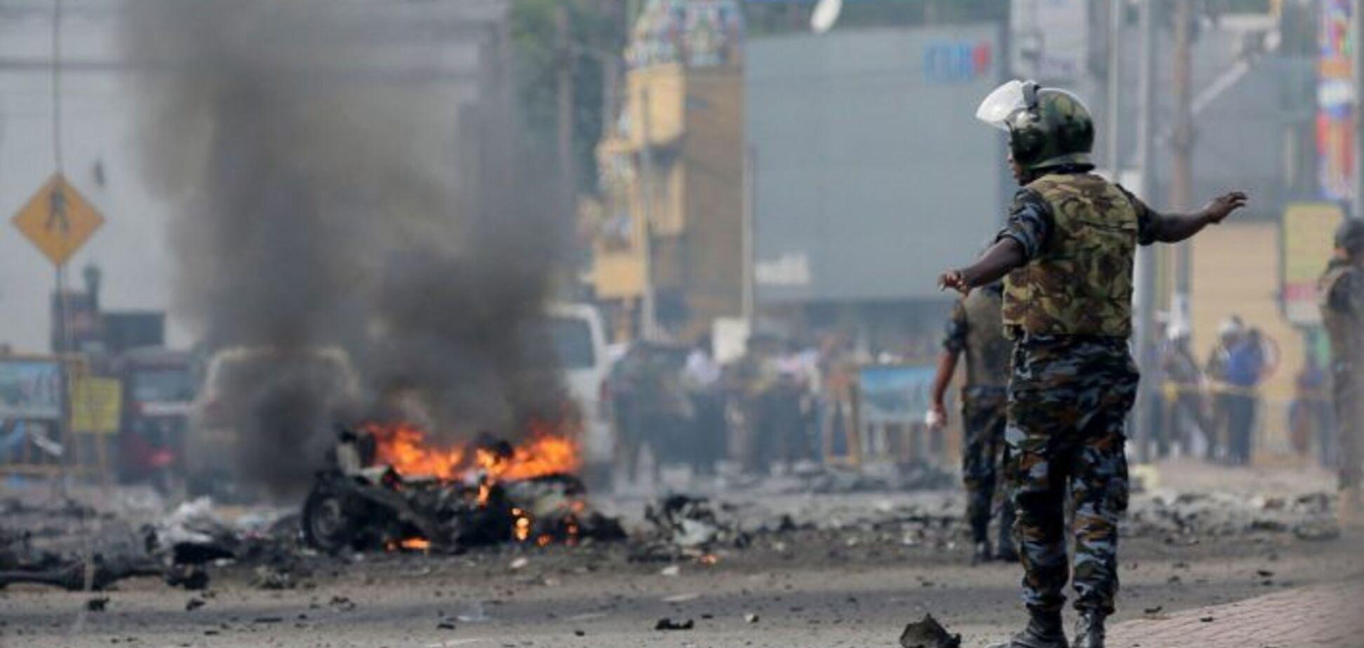 На Шрі-Ланці прогриміли три вибухи