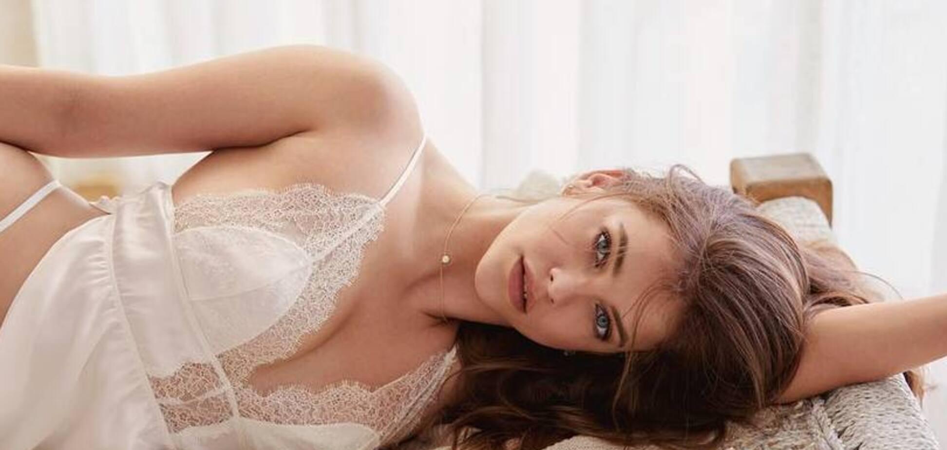 Новый 'ангел' Victoria's Secret разделась в пикантной фотосессии: знойные снимки