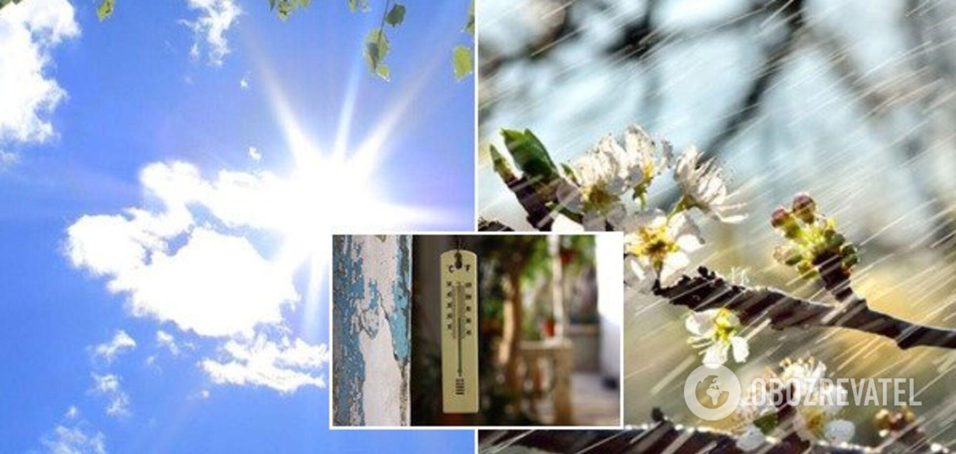 Спека та різке похолодання: синоптики дали прогноз на Великдень і травневі свята в Україні