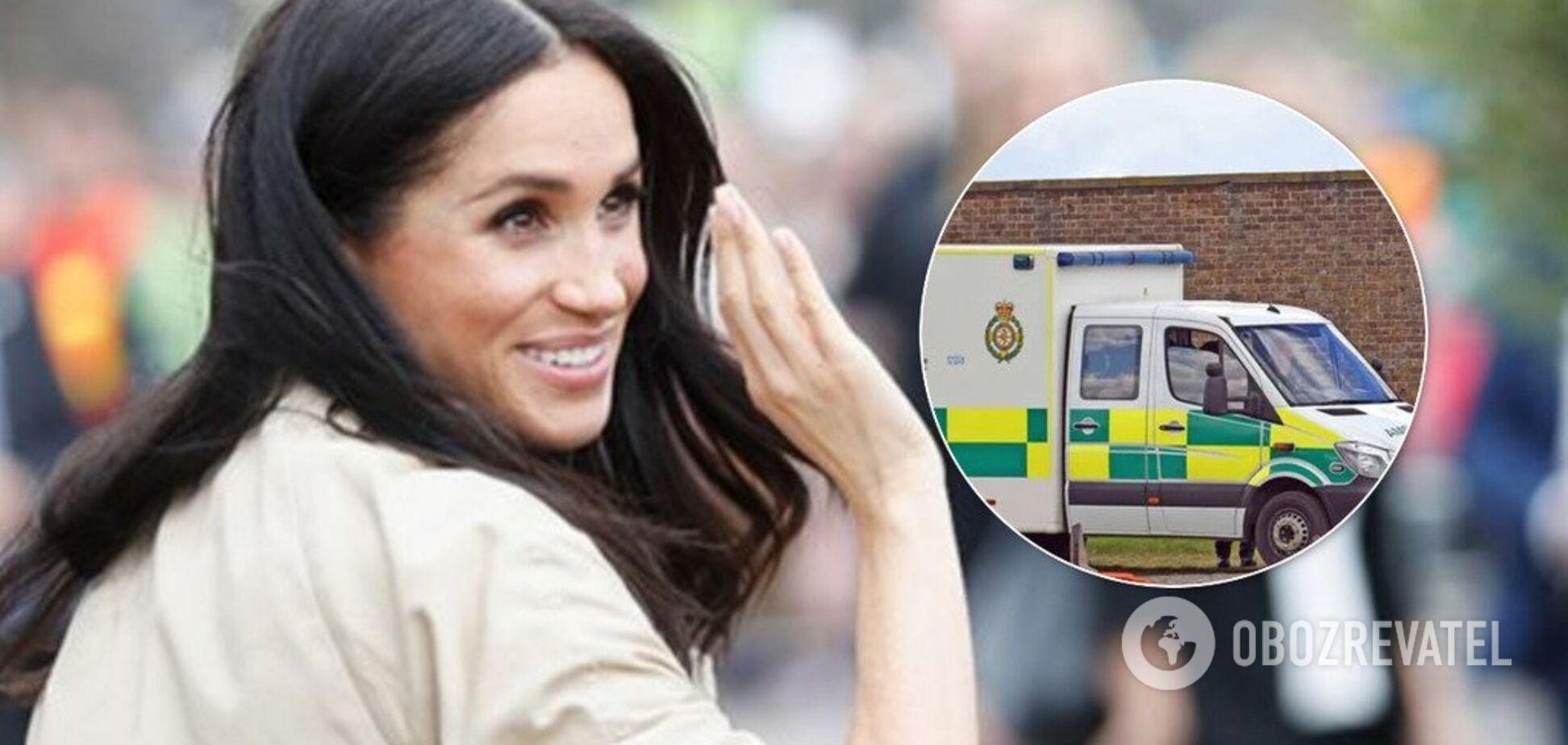 Народила? Біля резиденції Маркл і принца Гаррі помітили медиків