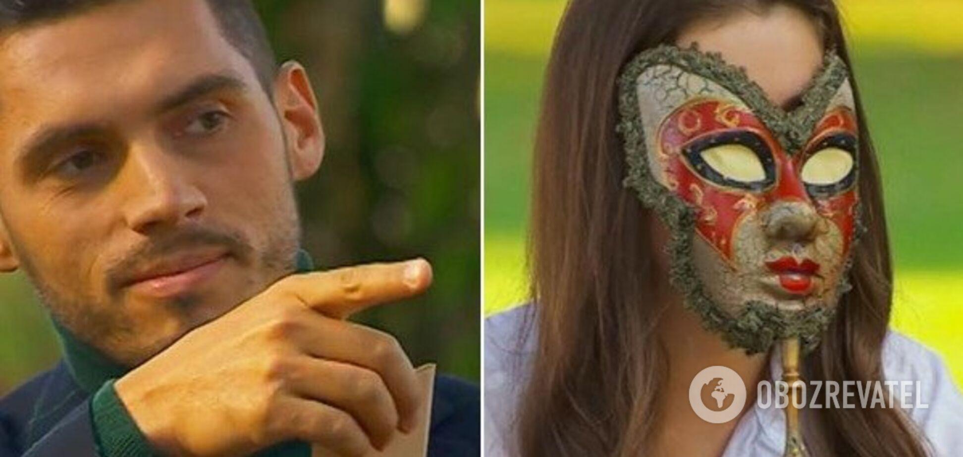Сорвал маски: в восьмом выпуске 'Холостяк-9' разыгрались 'французские страсти'