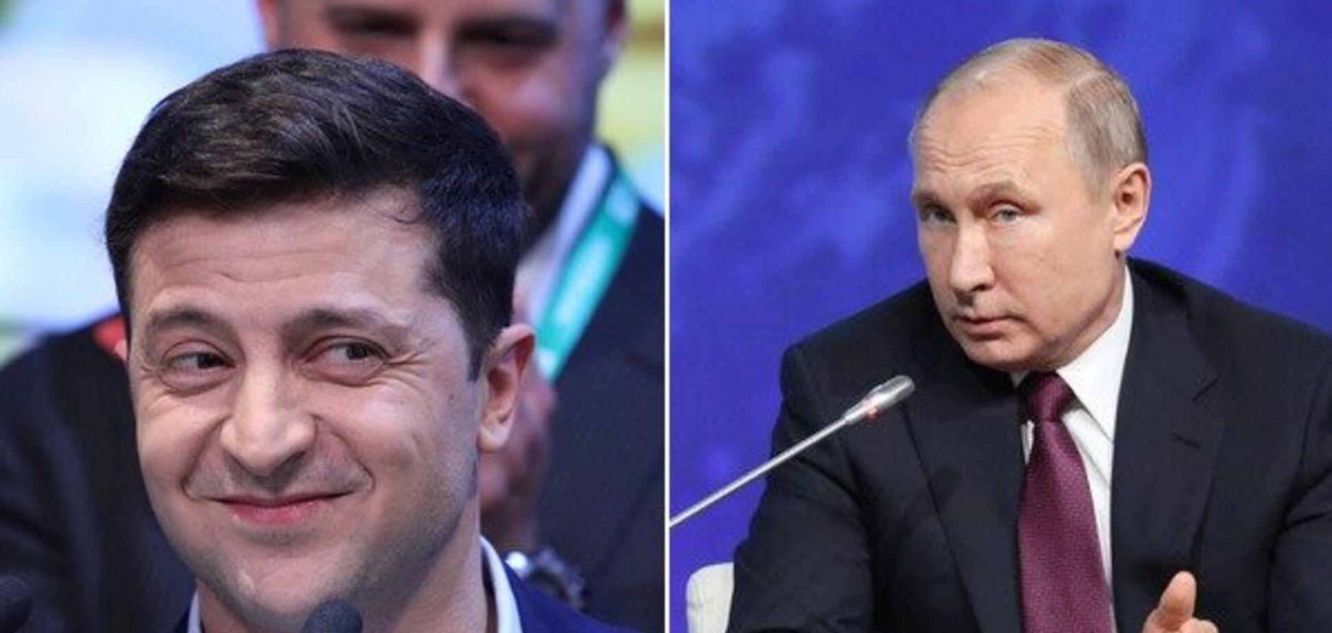 'Не повинен перед ним поставати': Путін жорстко висловився про Зеленського