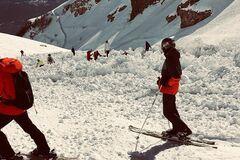 Лавина в Швейцарии унесла жизни группы лыжников