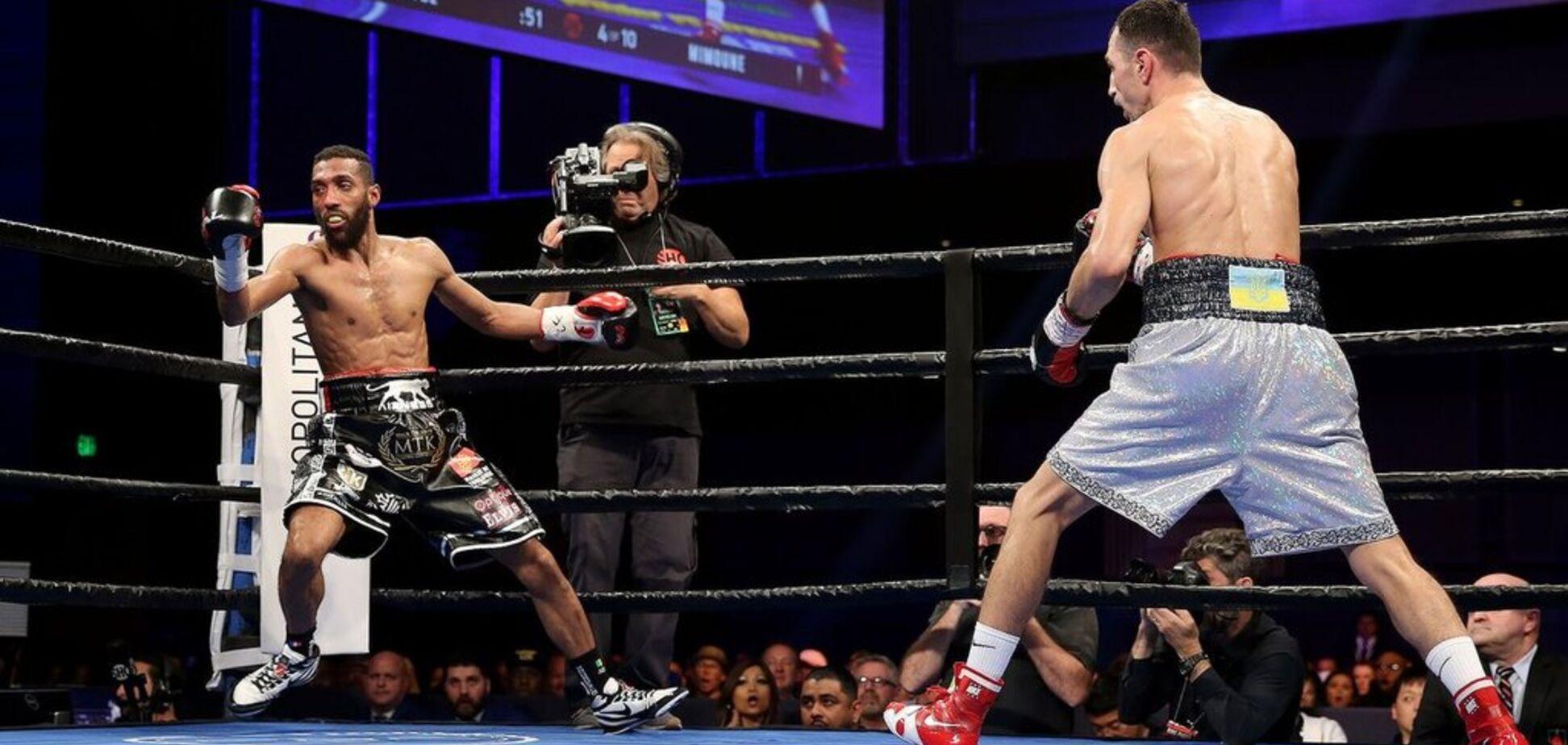 Знаменитий український боксер ефектно виграв бій i став претендентом на титул