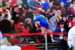 'Подлые людишки': российские самбисты устроили позорище на турнире - видеофакт