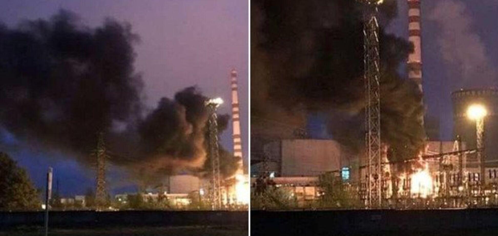 На Ривненской АЭС вспыхнул крупный пожар: отключен 3-й энергоблок