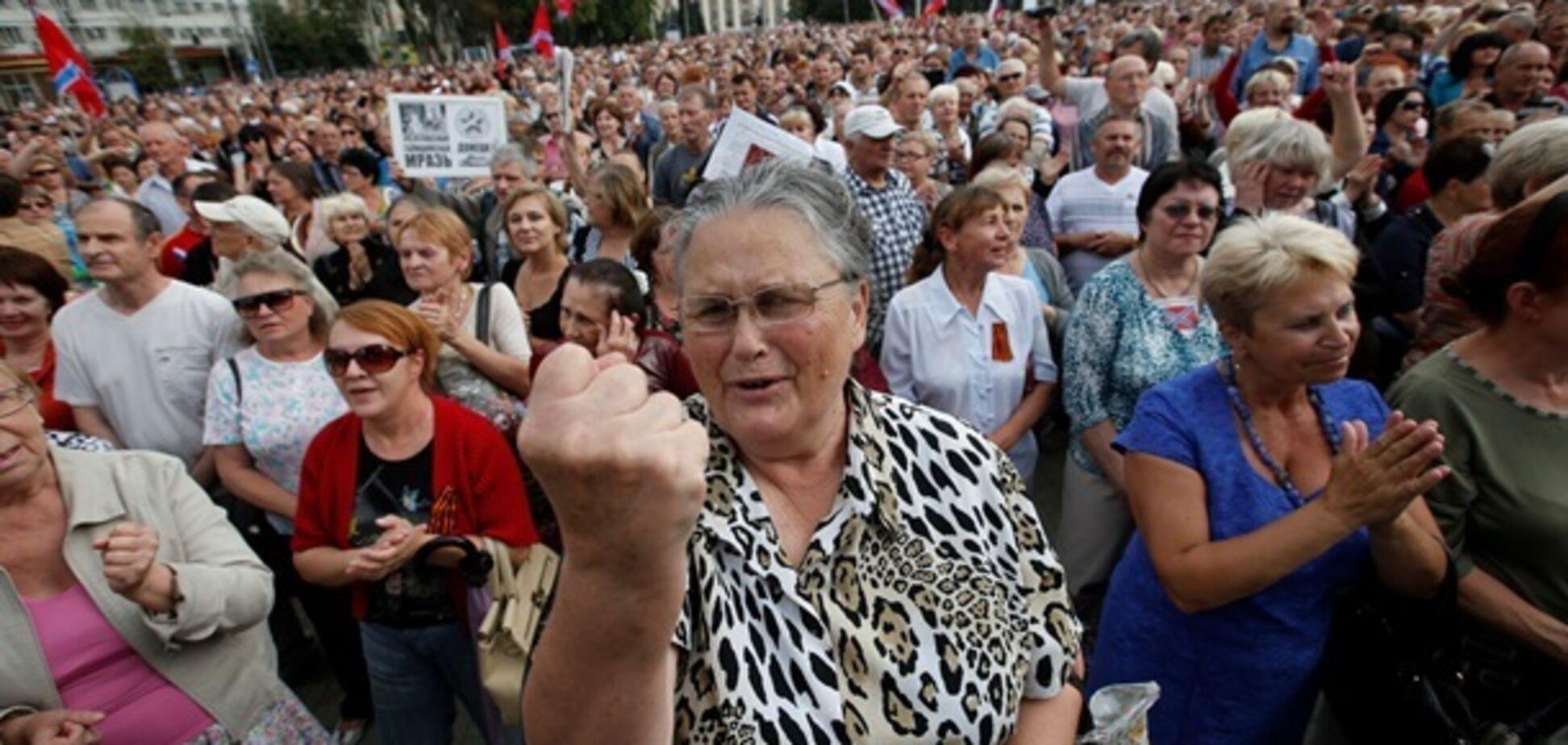 Клоунада продолжается: русских рублей прислали  – ждите шоу в Донецке