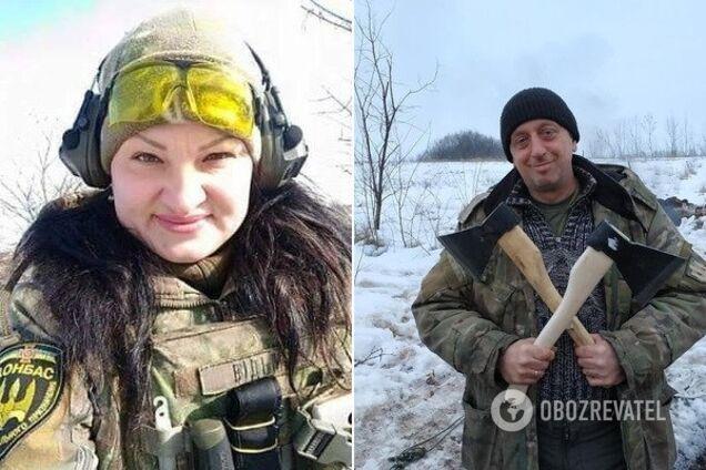 Погибшие герои Яна Червона и Александр Милютин