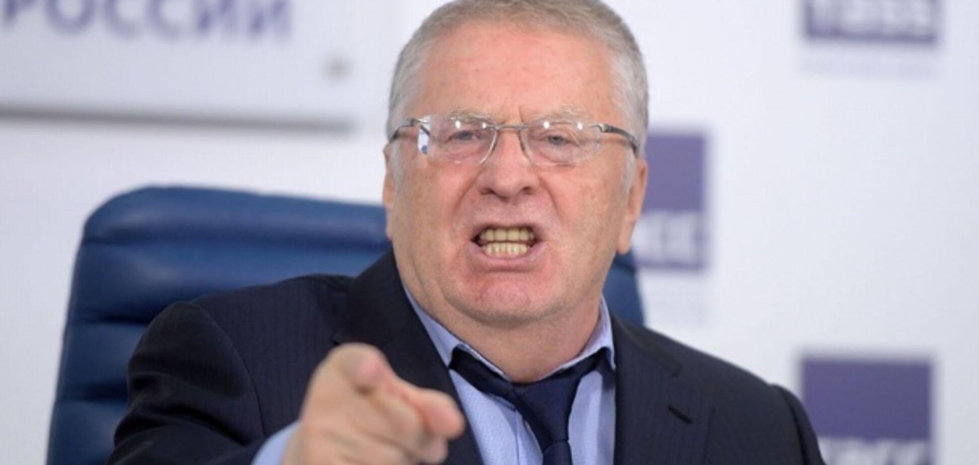 'Отойдет к России!' Жириновский собрался оккупировать пол-Украины