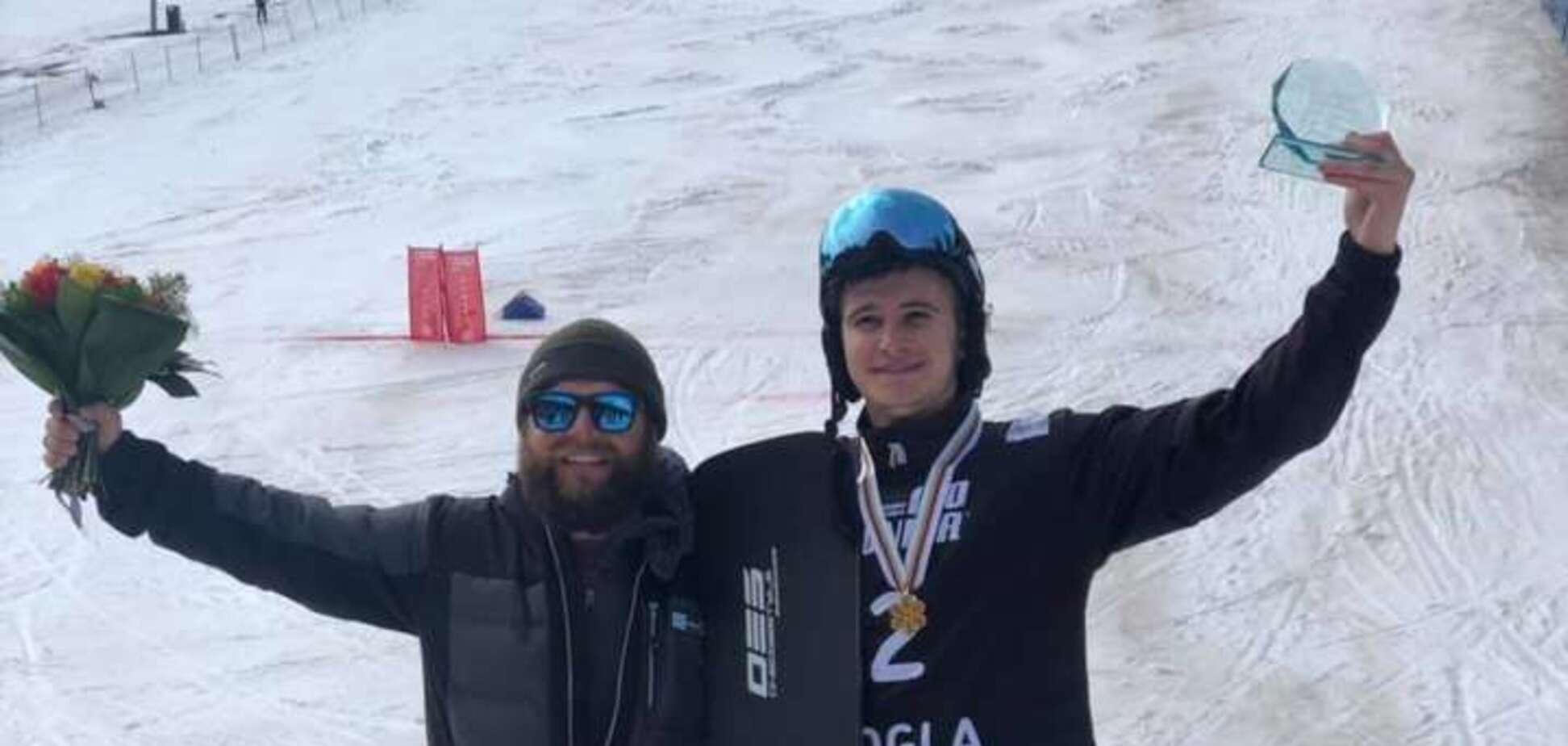 Юний український сноубордист виграв чемпіонат світу