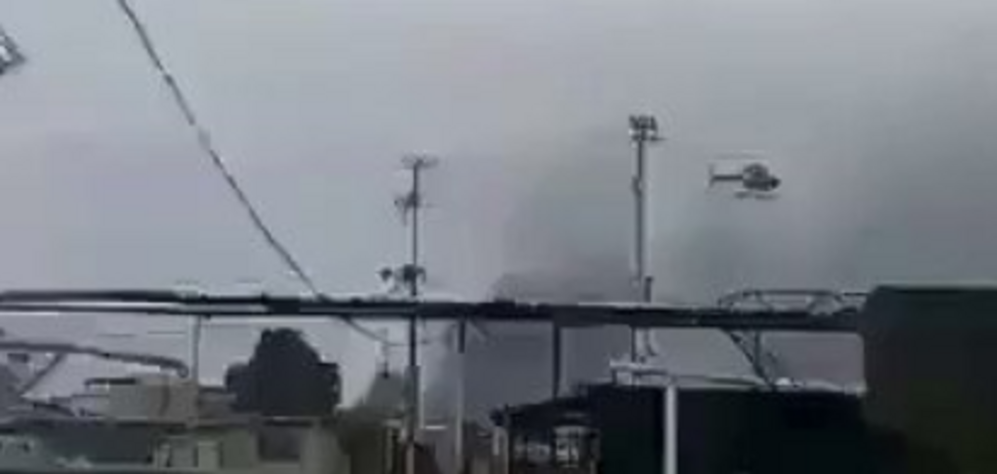 В Венесуэле протестующих расстреляли с вертолета:  видео с места событий