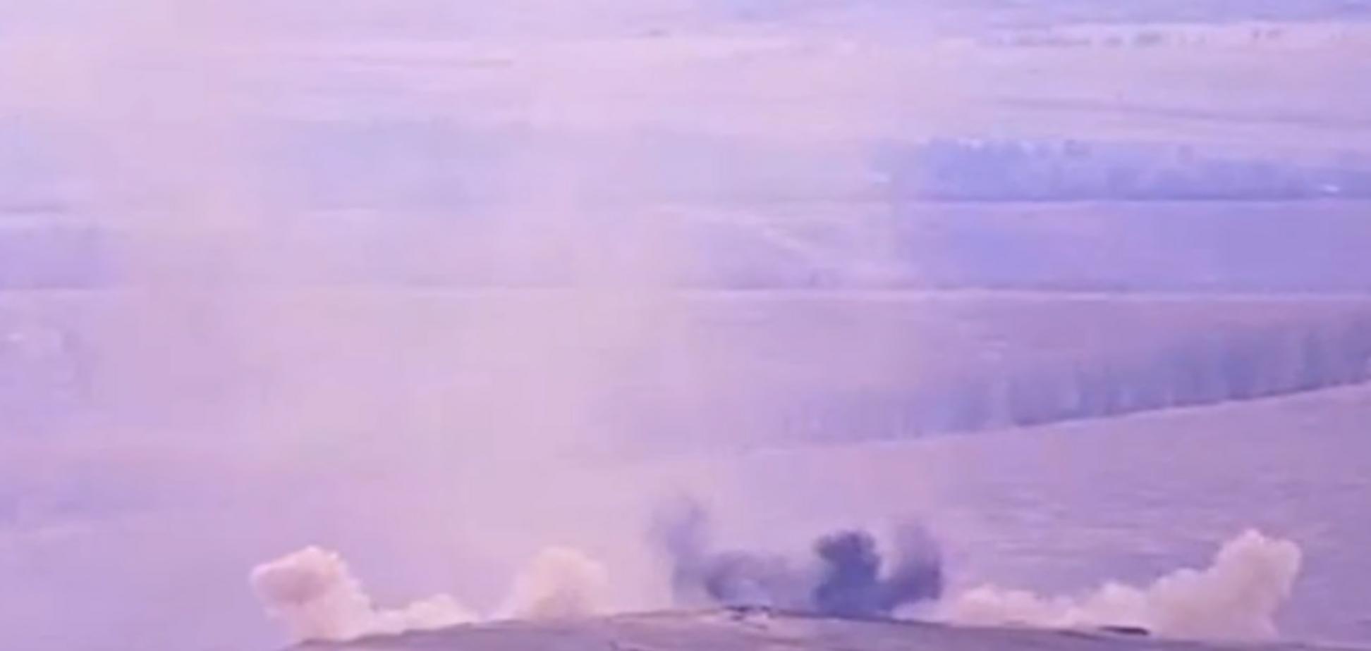 Ответка за наших: офицер ВСУ показал феерический разгром позиций 'Л/ДНР'