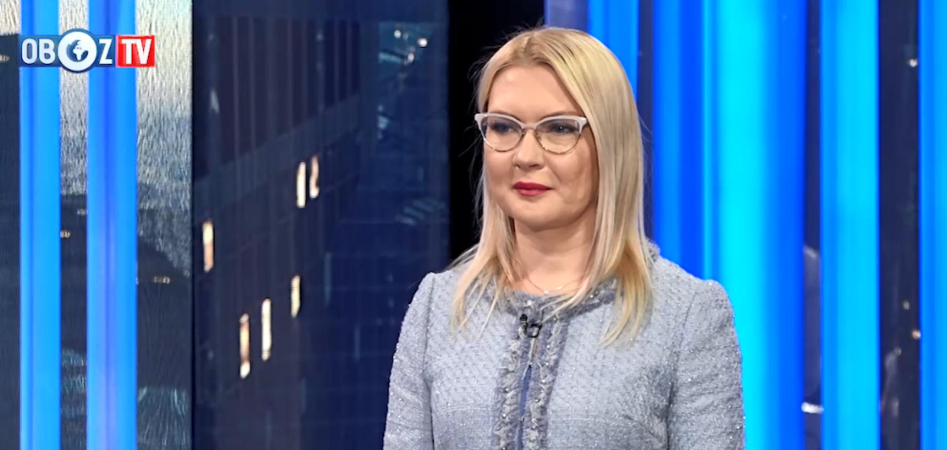 ''Перемога для України'': Шлапак оцінила підсумки першого туру виборів