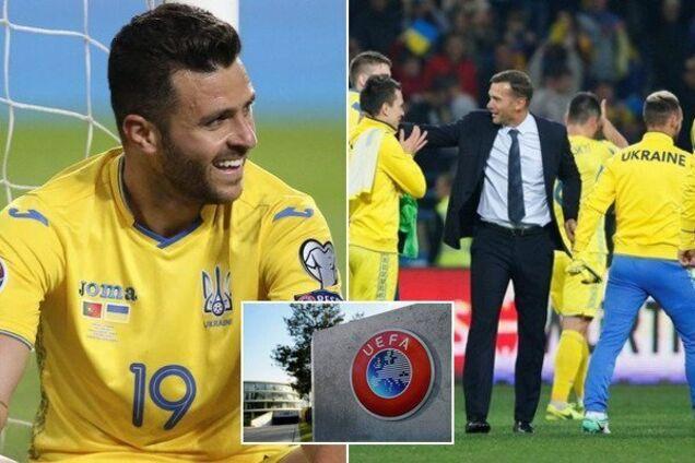 Названі кроки УЄФА щодо скандалу зі збірною України