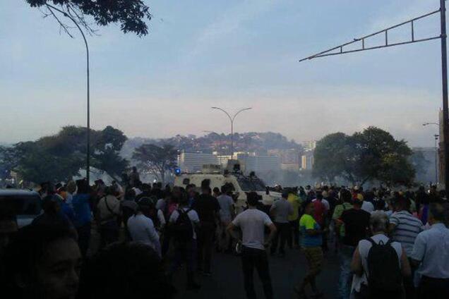 Протести в Венесуелі