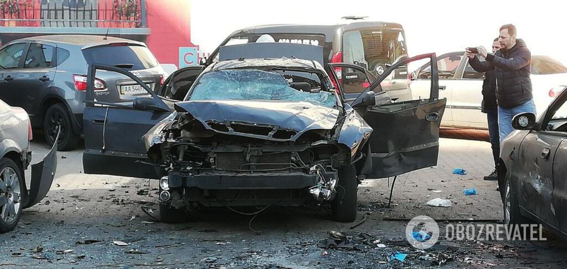 'Фронт проходит и в столице': во взрыве авто разведчика в Киеве нашли 'российский след'