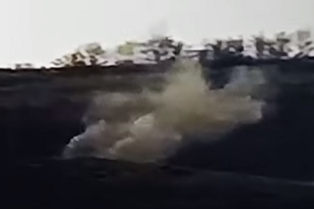 """Офицер ВСУ показал видео разгрома террористов """"Л/ДНР"""""""