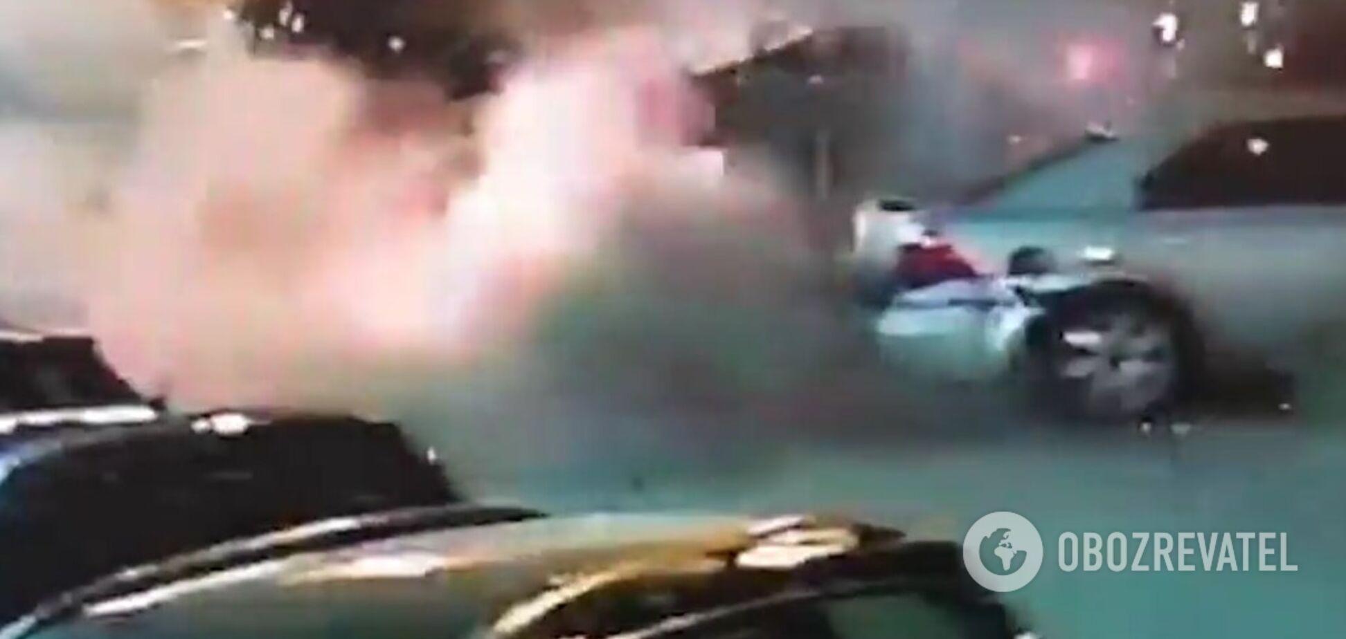 вибух авто військова розвідка київ