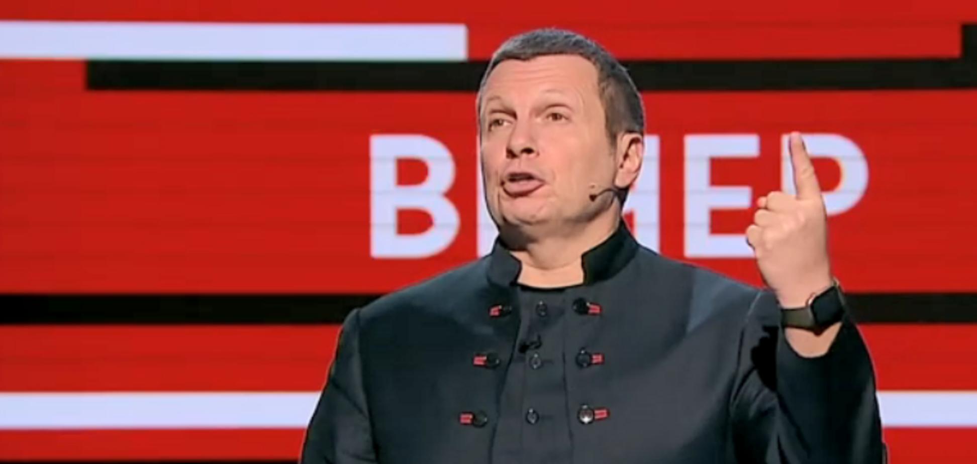 У Соловьева собрались 'сдвинуть' границу России к Киеву