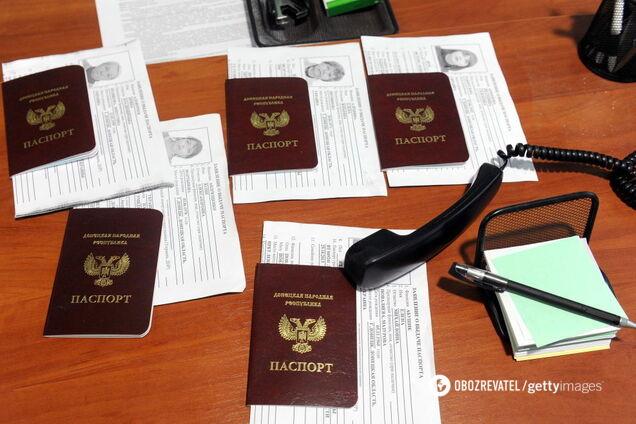 """Россия активно готовится к раздаче паспортов в """"ДНР"""""""