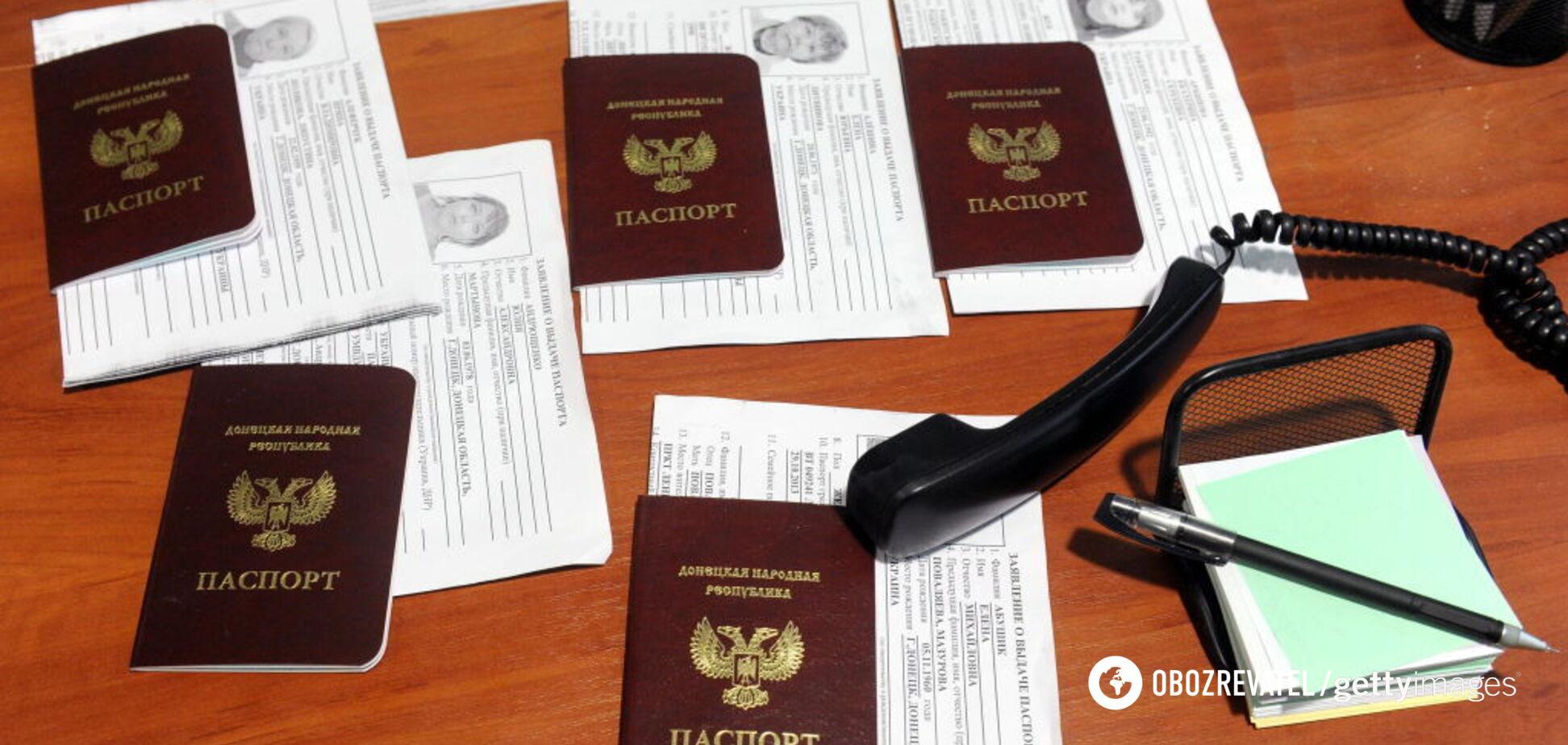 Россия активно готовится к раздаче паспортов в 'ДНР': что известно