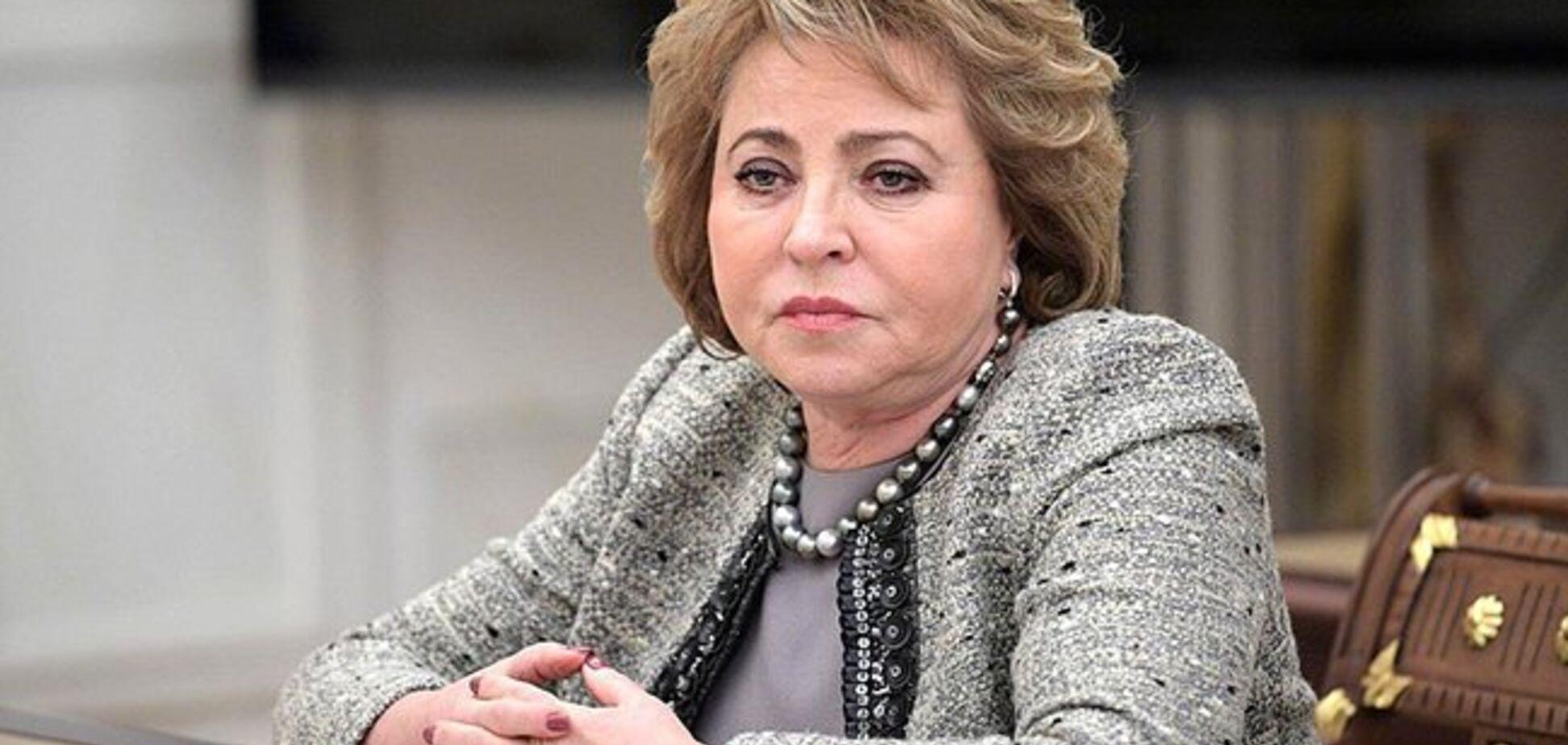 'Ми захищали людей!' Матвієнко зробила цинічну заяву про анексію Криму